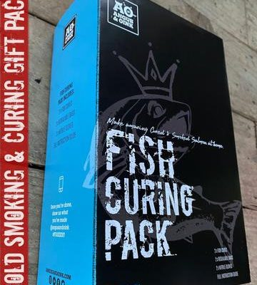 angus & Oink fish curing pack