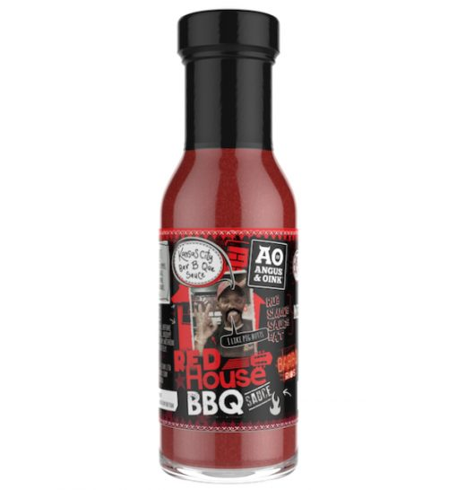 red house sauce from angus and oink