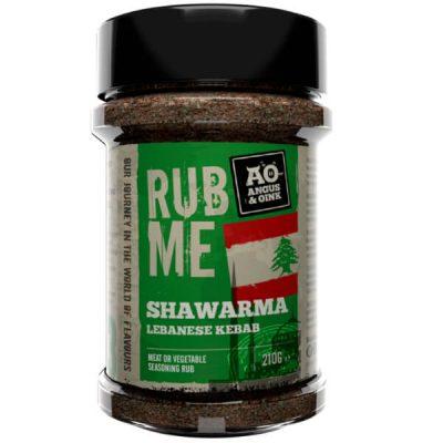 shawarma rub angus and oink