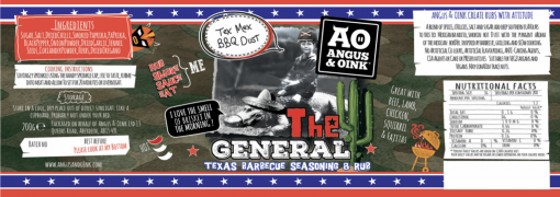 the general tex mex bbq rub