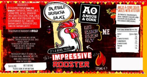 brings fusion to wings with buffalo style sriracha double punch combination