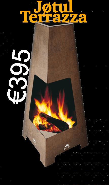 JOTUL TERRAZZA goodwood fuel